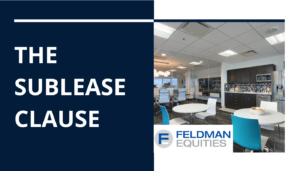 The Sublease Clause