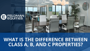 What is the difference between Class A, B, and C properties?