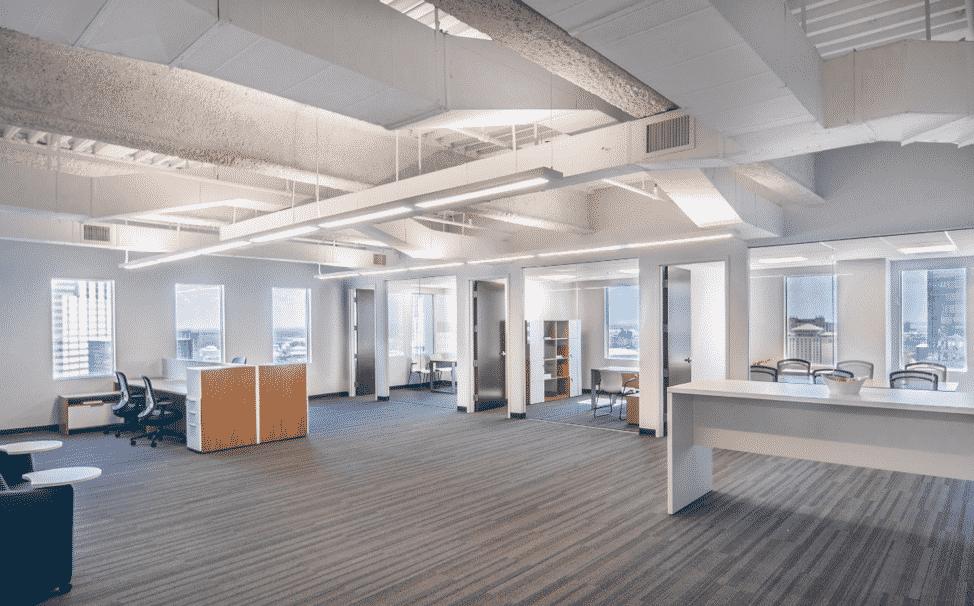 office rennovation